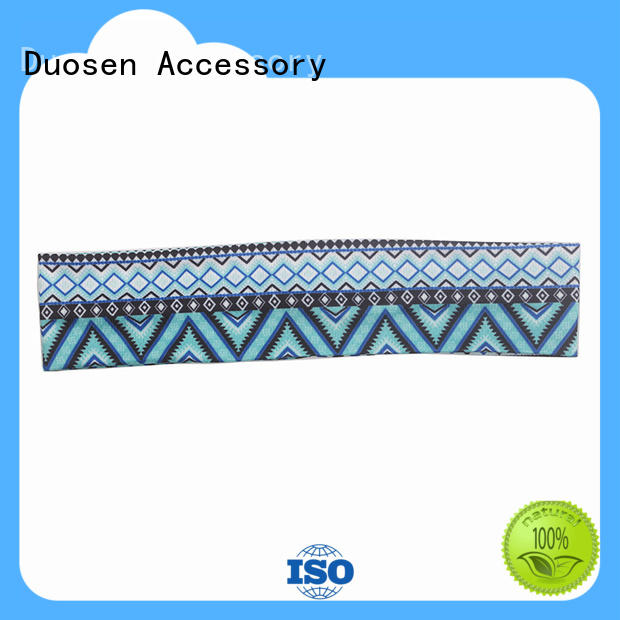 convinent Recycled material knit headband manufacturer for dancer