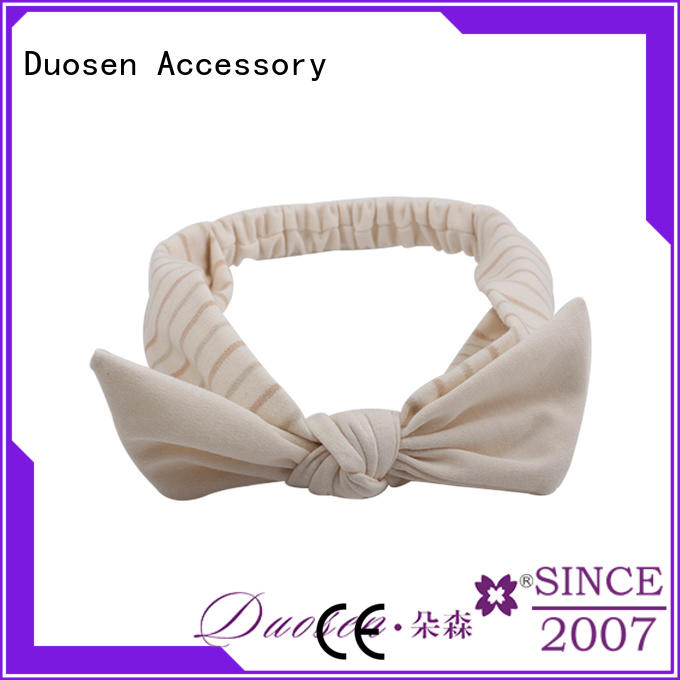 Top organic fabric hairband spot Suppliers for sports