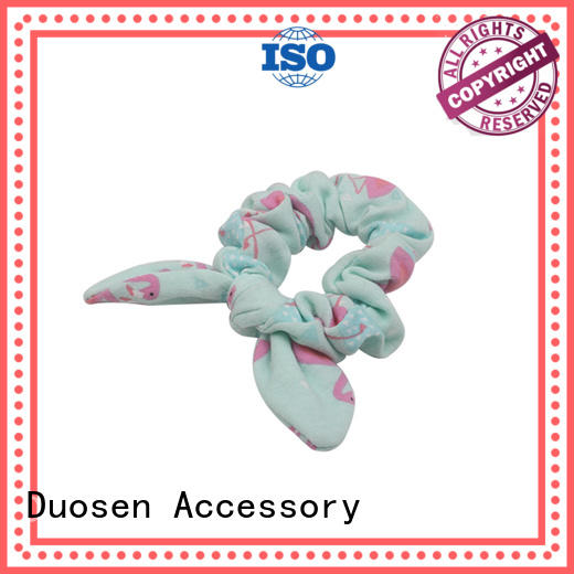 Duosen Accessory flamingo scrunchie hair ties Suppliers for girls