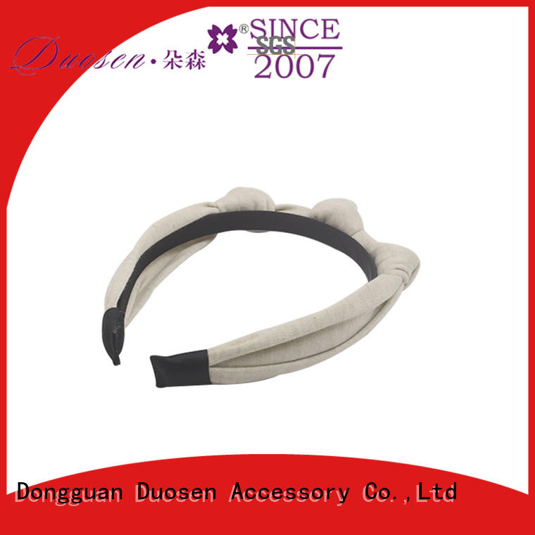 Duosen Accessory New fabric headband company for daily Life