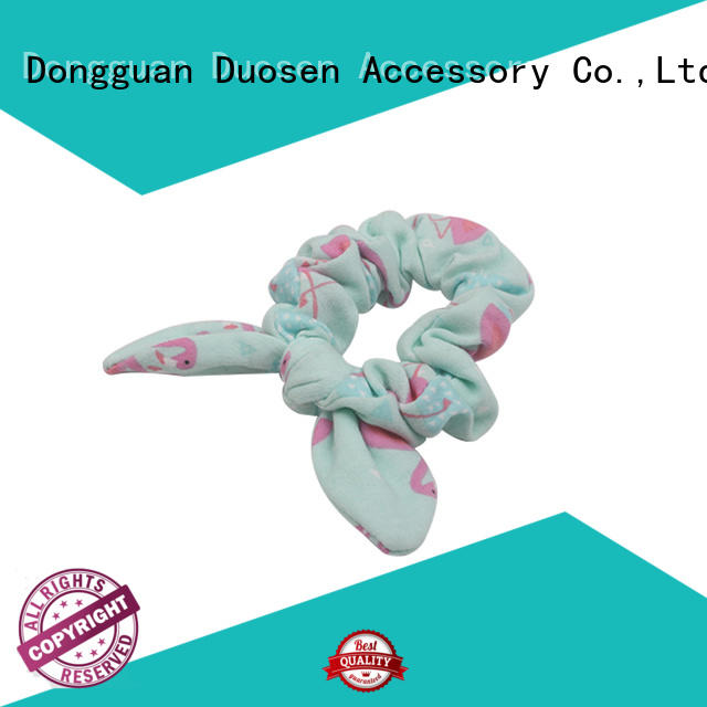 bow scrunchies tie for girls Duosen Accessory