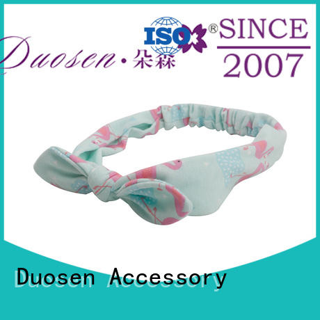 eco-friendly twisted fabric headband keep your hair style for party Duosen Accessory