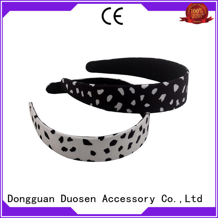 Duosen Accessory Best recycled fabric hairband Suppliers for daily Life