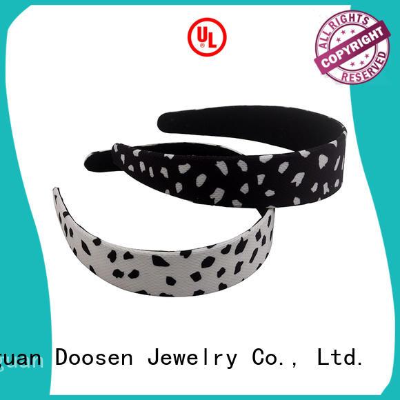 Duosen Accessory Brand spot organic material cross headband milk supplier