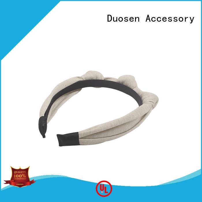 fashion headbands flowers for sports Duosen Accessory
