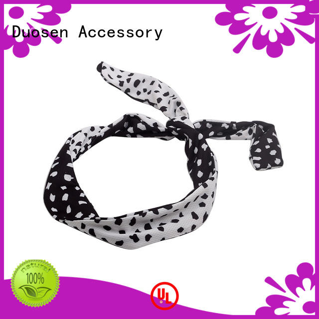 lightweight fabric alice band flowers manufacturer for daily Life