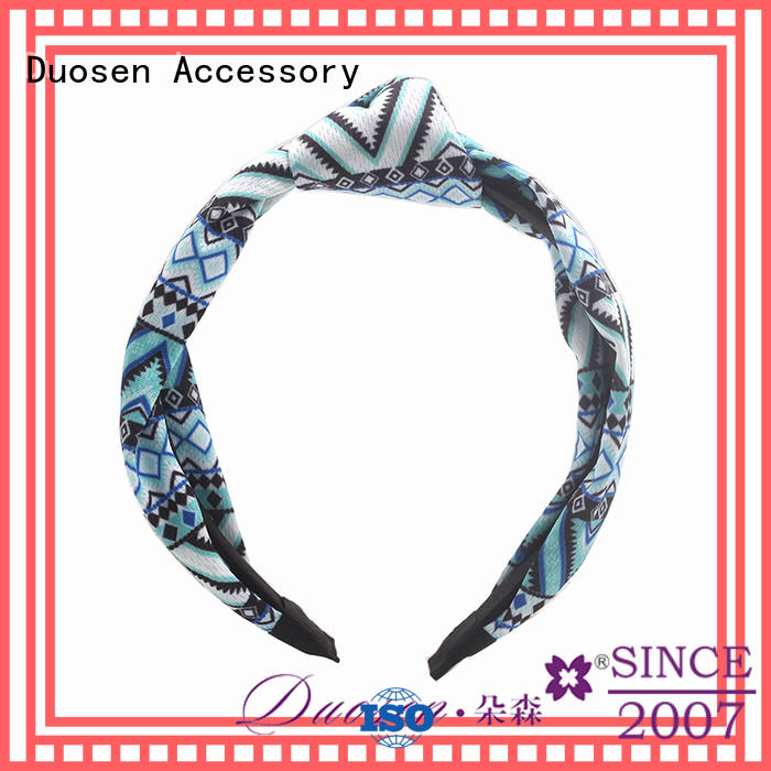 Wholesale fabric elastic headbands pineapple Suppliers for prom