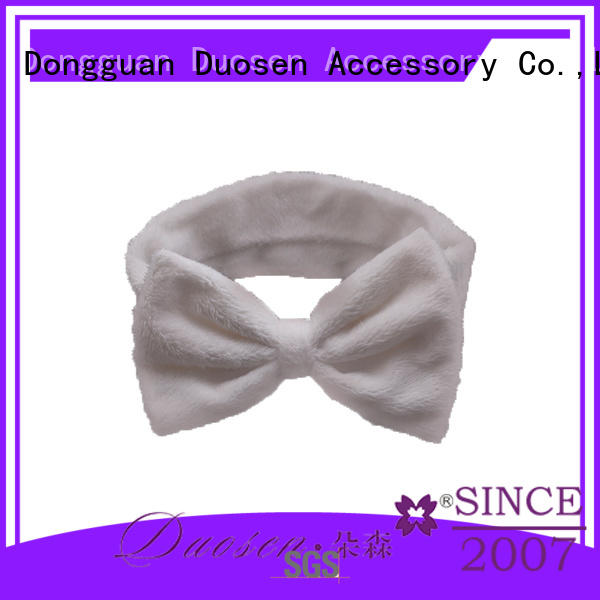 Duosen Accessory multifunctional wire fabric headband wholesale for daily Life