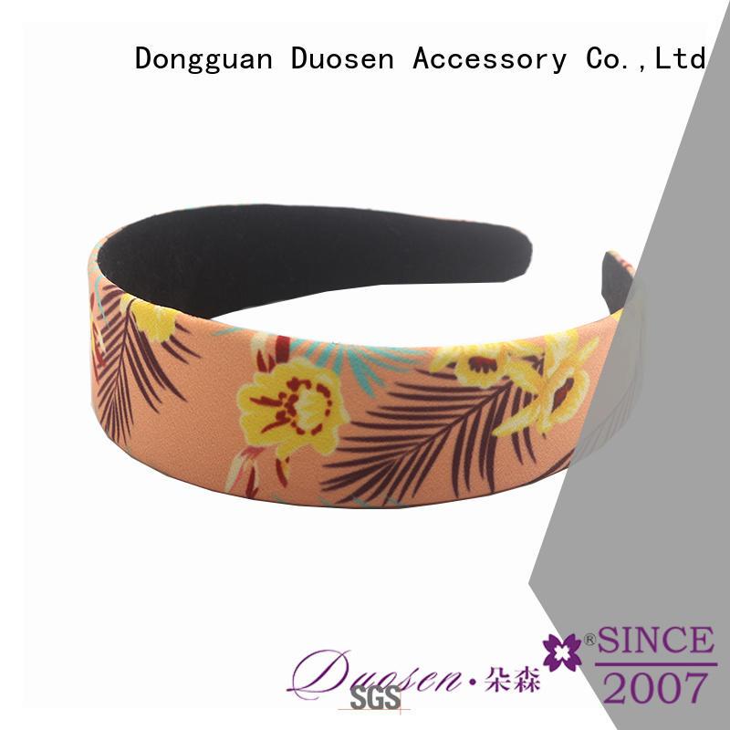 Duosen Accessory lightweight women's fashion headbands supplier for running