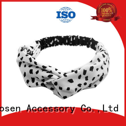 Duosen Accessory knots eco-friendly headband for business for dancer