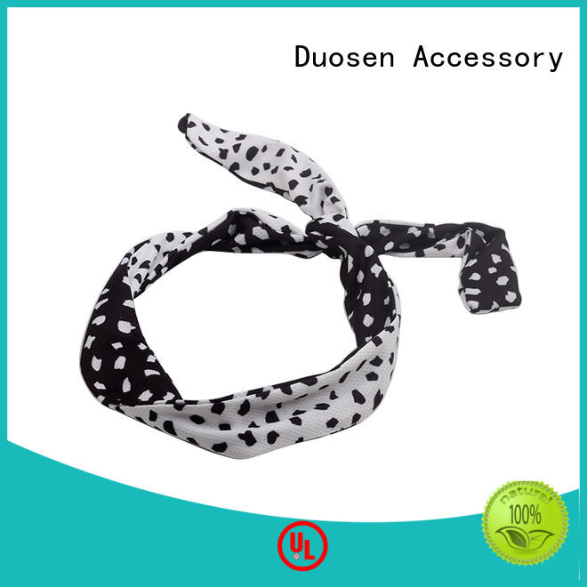 Duosen Accessory Top fabric elastic headbands Suppliers for party