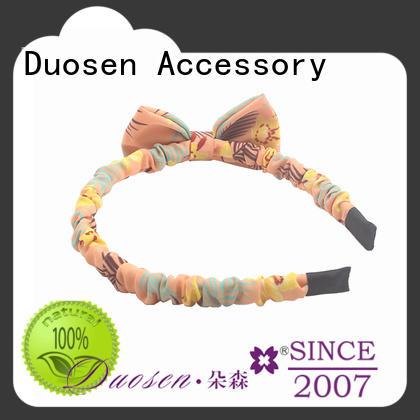 Duosen Accessory hairband organic cotton headband customized for dancer