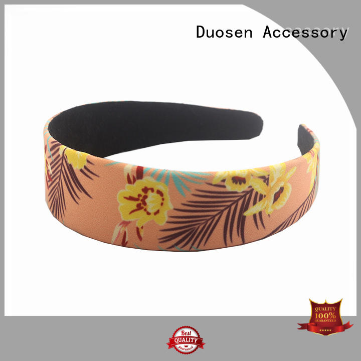 Hot multifunctional organic material cross headband accessories Duosen Accessory Brand