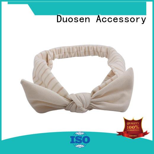 milk cotton headbands wholesale for prom Duosen Accessory