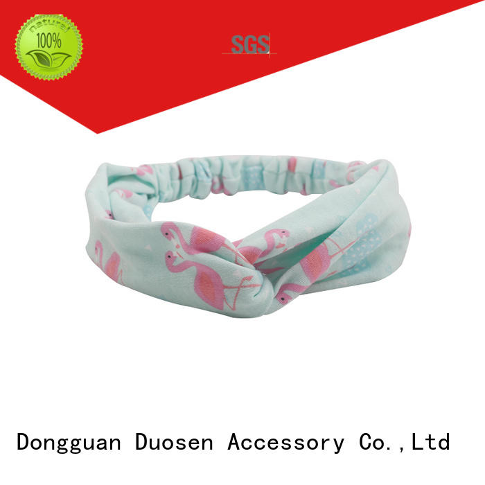 Duosen Accessory pineapple fabric alice band Suppliers for dancer
