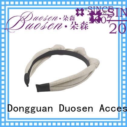 Duosen Accessory environmentally fabric headbands Supply for party