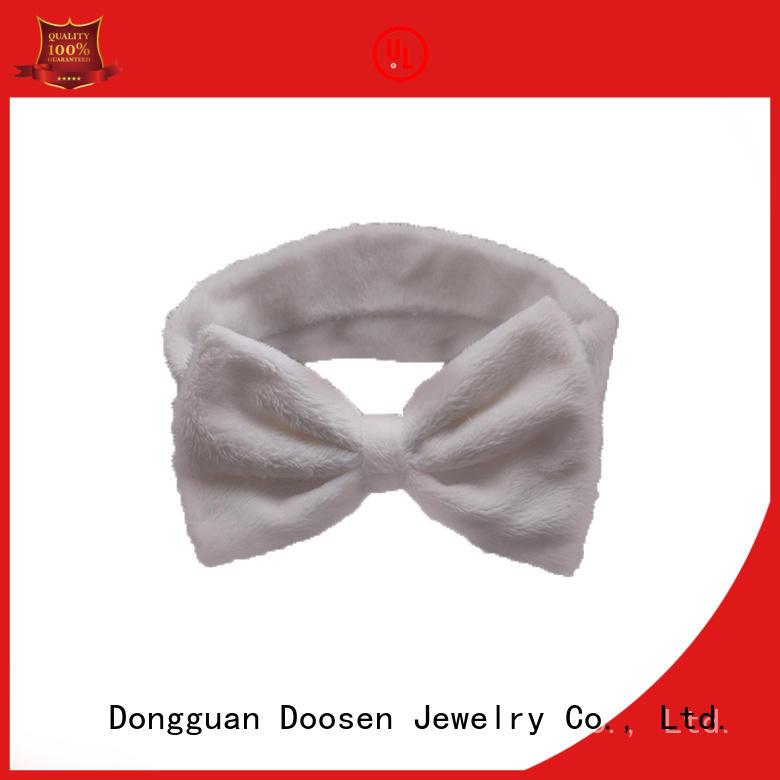 ecofriendly flowers accessories Duosen Accessory Brand organic fabric headband supplier