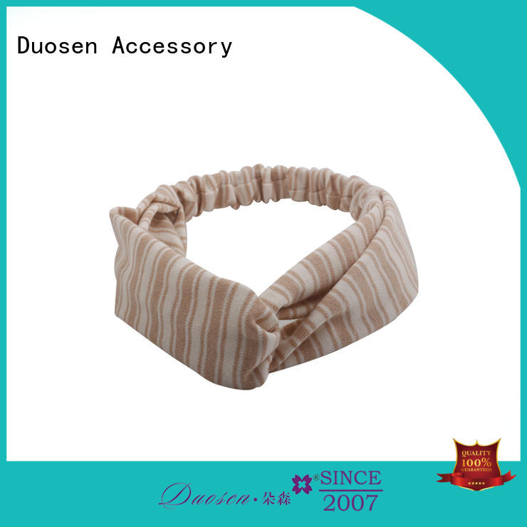Duosen Accessory New fabric alice band for business for daily Life