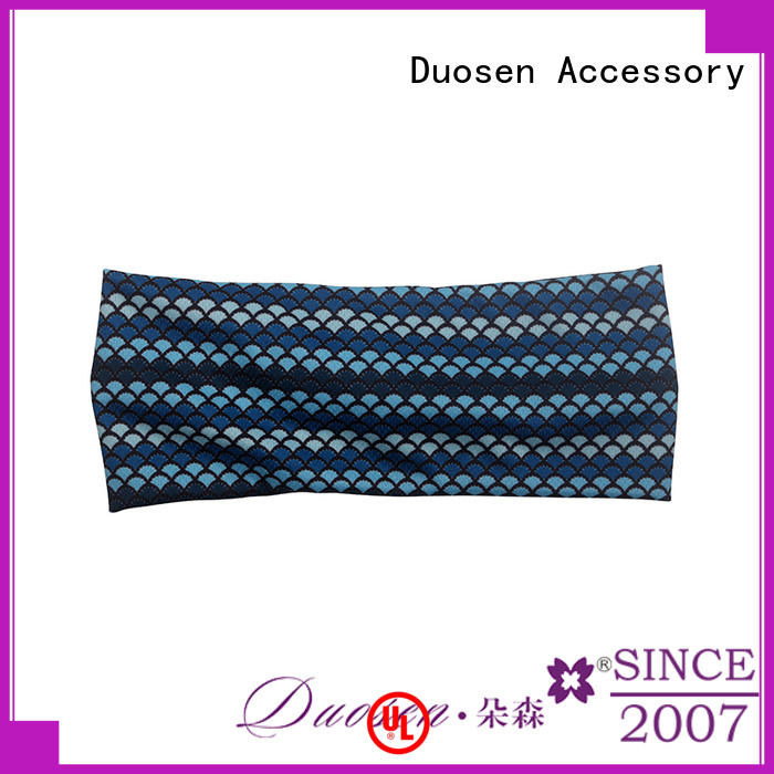 Duosen Accessory convinent fabric headbands with regular use for dancer