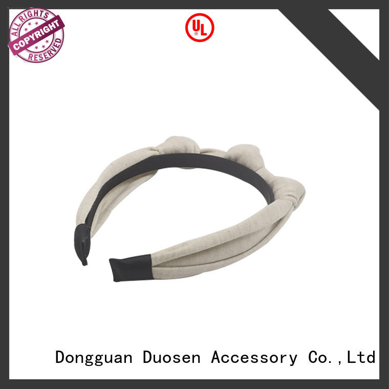 Duosen Accessory OEM fabric headbands wholesale wholesale for sports