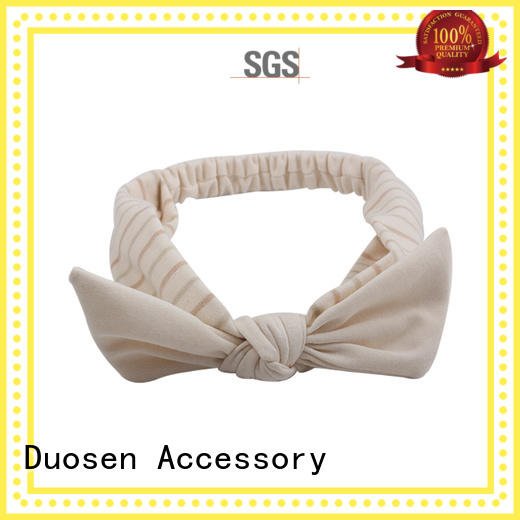 Duosen Accessory ecofriendly fabric alice band Suppliers for prom