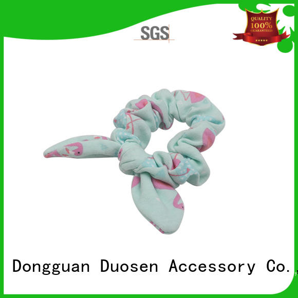 Duosen Accessory High-quality scrunchie hair ties company for girls