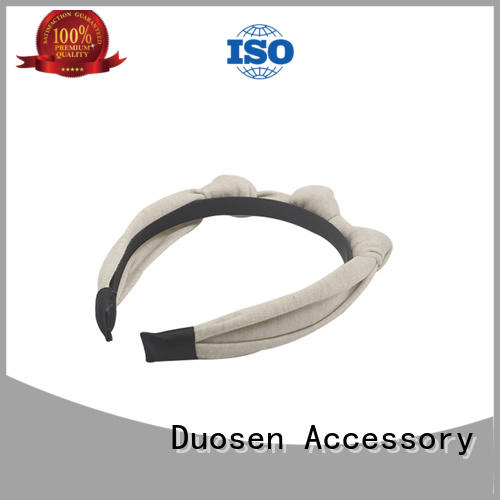 cow different environmentally Duosen Accessory Brand organic material cross headband manufacture