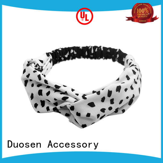 Duosen Accessory lightweight eco-friendly plastic hai band customized for prom