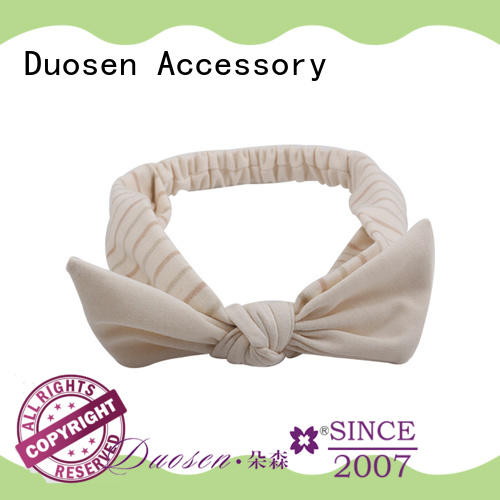 Duosen Accessory Latest organic cotton headband company for party