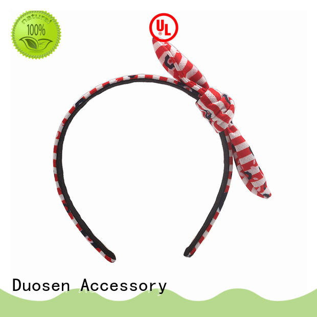 Top fabric tie headbands bright factory for sports