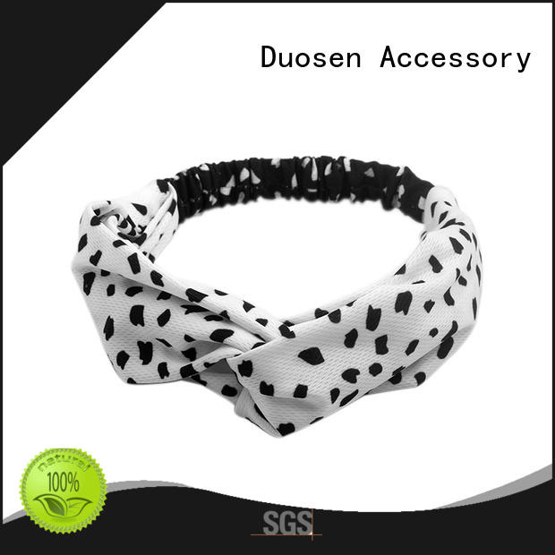 convinent recycled fabric hairband hairbands series for sports