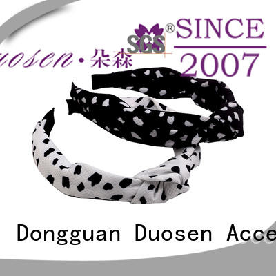 Duosen Accessory Top fabric hair bands factory for running