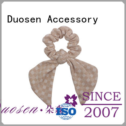 Wholesale fabric hair tie hair company for daily life