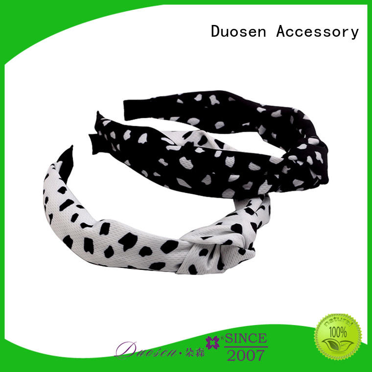 Duosen Accessory Custom cloth headbands for business for sports