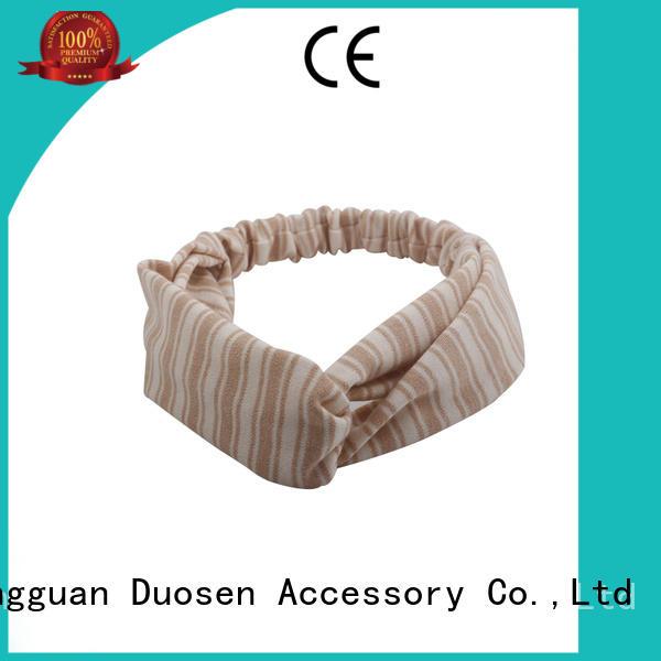 Duosen Accessory Wholesale turban headband company for running