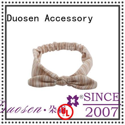 Duosen Accessory elegant wrap around headbands wave for prom