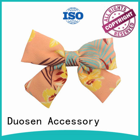 durable fabric hair clip for girls manufacturer for party Duosen Accessory