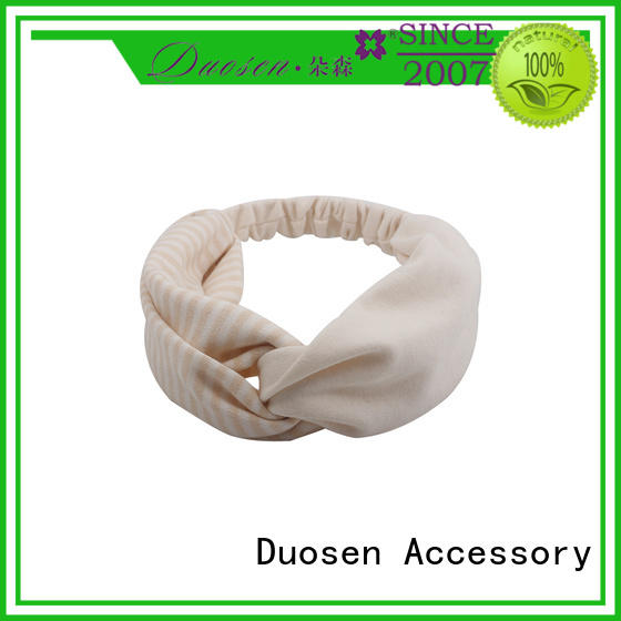 Duosen Accessory Best fabric hair bands company for sports