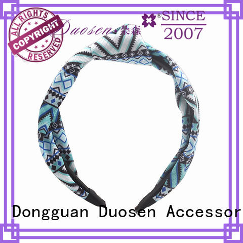 ODM recycled fabric hairband special supplier for daily Life