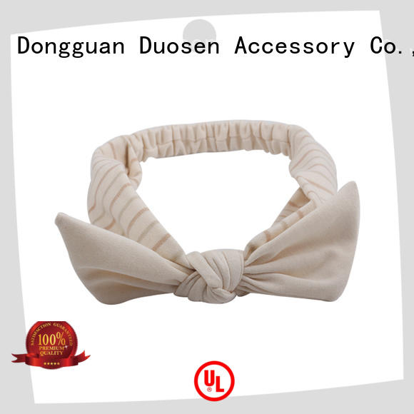 Duosen Accessory Latest fabric headbands wholesale factory for daily Life