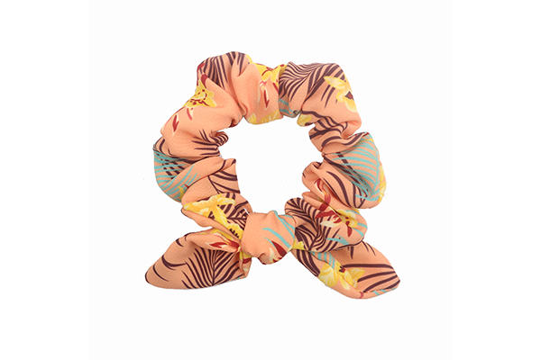 Duosen Accessory Top bow hair scrunchie Supply for women-3
