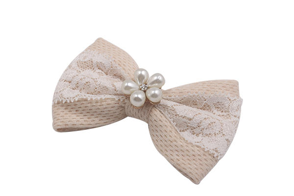 fabric bow hair clip women for girls Duosen Accessory-3