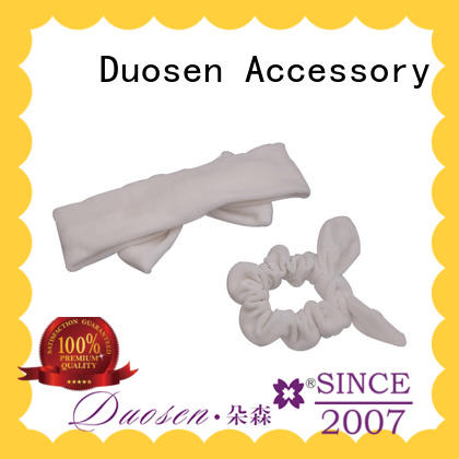 Duosen Accessory special organic fabric bow headband manufacturers for prom
