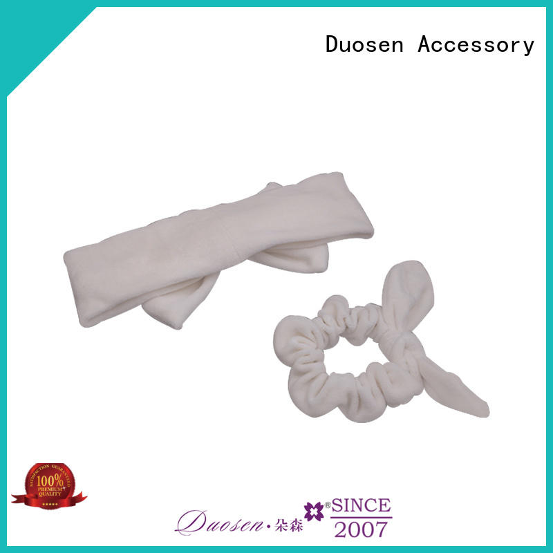 Wholesale fabric hair bands coffee Suppliers for dancer