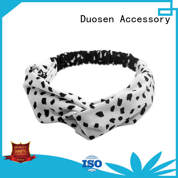 Custom cloth hairband color manufacturers for running