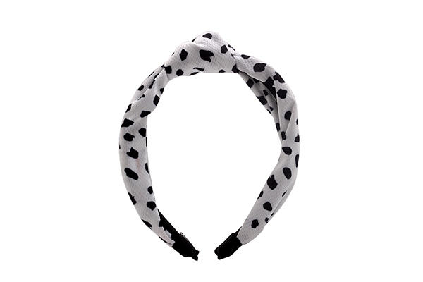 Duosen Accessory geometric fabric knot headband company for prom-3