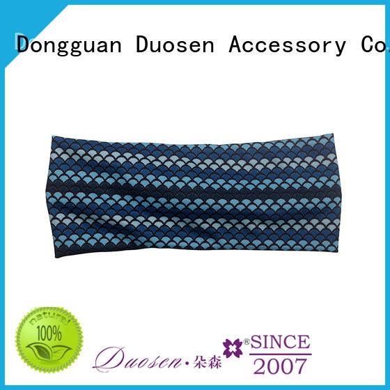 Duosen Accessory recycled twisted fabric headband Suppliers for prom