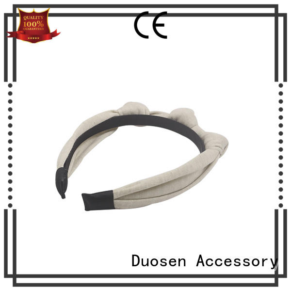 lightweight fabric hair bands cow wholesale for party