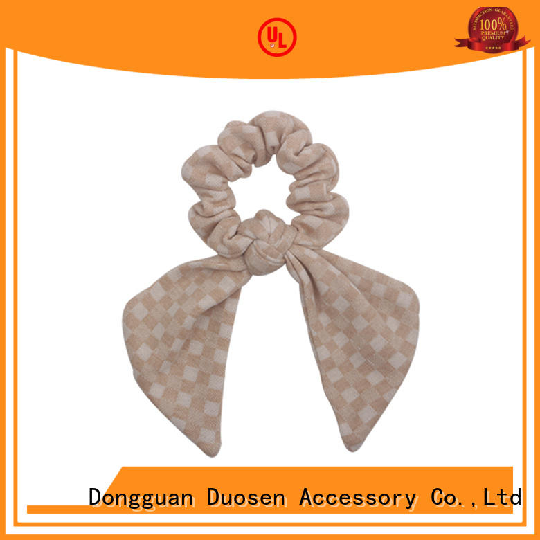 lightweight fabric scrunchies cute supplier for daily life