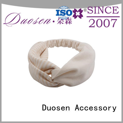hairbands fabric headbands wholesale manufacturer for sports Duosen Accessory